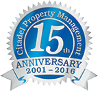 Citadel Property Management - 15th Anniversary